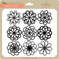 Flower Doily Bundle 2