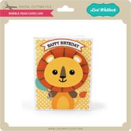 Bobble Head Card Lion