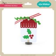 Christmas Tag Holly