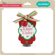 Christmas Tag Warm Wishes
