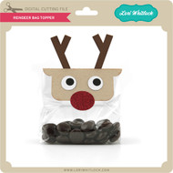Reindeer Bag Topper