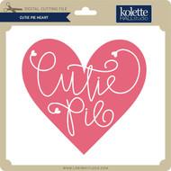 Cutie Pie Heart