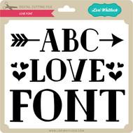 Love Font