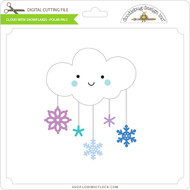 Cloud With Snowflakes - Polar Pals