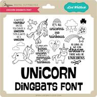Unicorn Dingbats Font