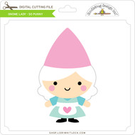 Gnome Lady - So Punny
