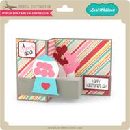 Pop Up Box Card Valentine Gum
