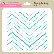 Zig Zag Dots Background