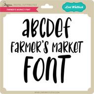 Farmer's Market Font