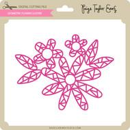 Geometric Flower Cluster