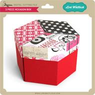 3 Piece Hexagon Box
