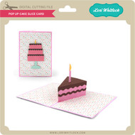 Pop Up Cake Slice Card