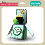 A2 Box Card St Patrick Pot of Gold