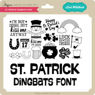 St Patrick Dingbats Font