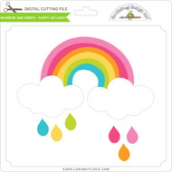Rainbow and Drops - Happy Go Lucky