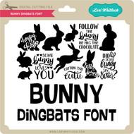Bunny Dingbats Font