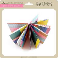 One Piece of Paper Mini Album
