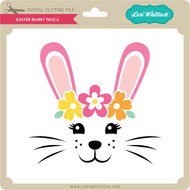 Easter Bunny Face 2