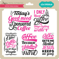 Coffee Phrase Bundle