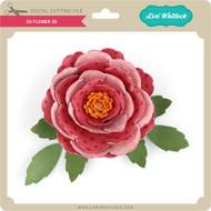 3D Flower 35