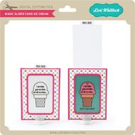 Magic Slider Card Ice Cream