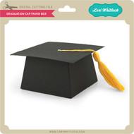 Graduation Cap Favor Box