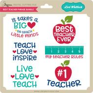 Best Teacher Phrase Bundle