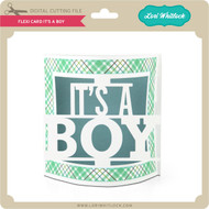 Flexi Card It's a Boy