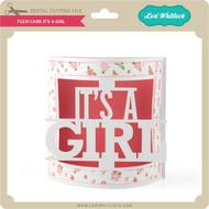 Flexi Card It's a Girl