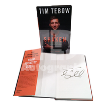 "Tim Tebow Autographed ""Shaken"" Book"