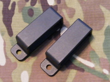 Black Injection Molded Belt Loop