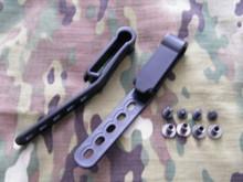 "G-Code IWB Black Injection Molded Belt Clips 1.75"""