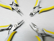 LINDSTROM® EX PLIERS SET 4PC EX KIT FLAT ROUND CHAIN CUTTER