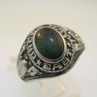 Silver Tone Green Bay East High School Class 1982 Ring Size 6.5