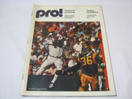 Pro Mag Oct 5 1975 Packers vs Dolphins Program