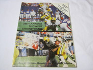 34th Annual Midwest Shrine Game Packers vs Browns Aug 1983