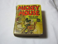 Mickey Mouse Runs His Own Newspaper Big Little Book
