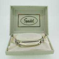 Speidel Stainless Identification ID Medical Bracelet 6 3/4 Inches