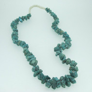 String Turquoise Nugget Necklace