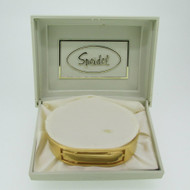 Speidel Gold Tone Medical ID Identification Cuff