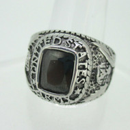 Silver Tone United States Army Military Ring Size 10.75