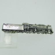 Sterling Silver Ishokuya Locomotive Train Tie Bar
