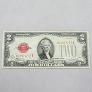1928 D Red Seal United States Two Dollar Note 600910