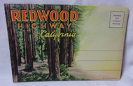 Redwood Highway Ca Antique Postcard Booklet