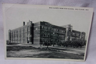 Eau Claire High School Wi Old Postcard