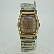 Vintage Gruen Veri-Thin 477/406 15J 10k Gold Filled Watch Parts Steampunk (B6375)