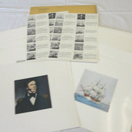 US Naval Institute Magazine Cover Art Pictures Prints 1953 Full Color Set of 12