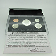 1992 United States Mint Silver Proof Set with Original Box and COA (600395)