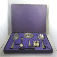 Antique Sheffield A1 Silver Plated Veribest Serving Hostess Set in Original Box