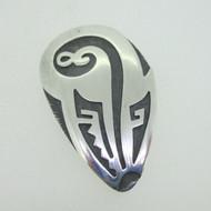 Sterling Silver Southwest Tribal Symbol Pendant & Pin